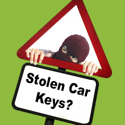 replacement stolen car keys